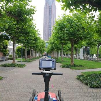 GPR survey in Frankfurt