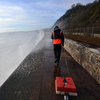 Surveying the South Devon Railway for Voids