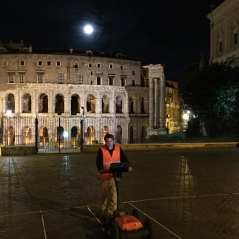 GPR survey of the Capitoline Hill, Rome