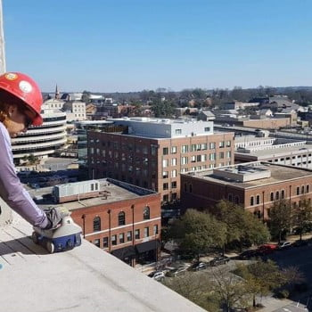 Concrete scanning in Downtown Greenville, SC