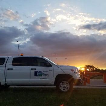 Roadscan at Sunset