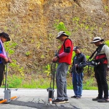 GPR Survey for Karst Subsidence Hazards Assessment