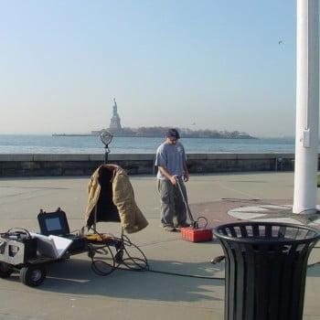 GPR on Ellis Island
