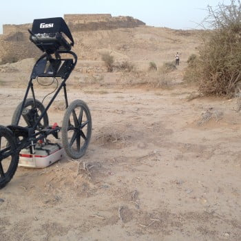Archaeogeophysical prospection