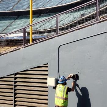 GPR Scanning at Dodger Stadium