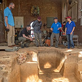 Jamestown Uses GPR to Define Lost 17th Century Landscape