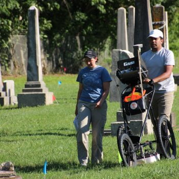GPR Survey at the Old City Cemetery in Murfreesboro, TN
