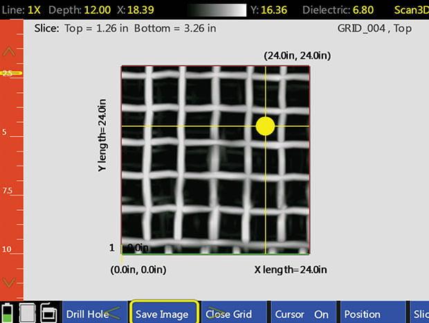 StructureScan Mini XT - 3D Virtual Borehole Feature