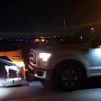 GPR Testing at DFW International Airport